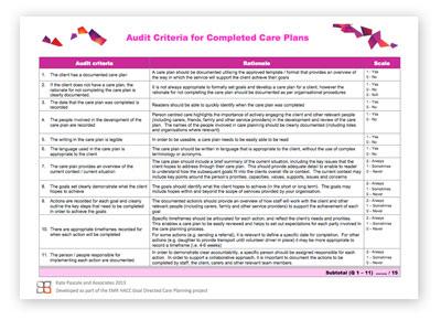 GDCP Audit criteria